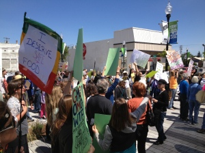 There was an amazing turnout for the March against Monsanto on May 25th.