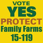 Are you registered to vote? This measure will be on the ballot May 20th. Vote Yes and Support our family farms